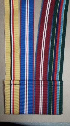 Figure 15: Ribbons sewn